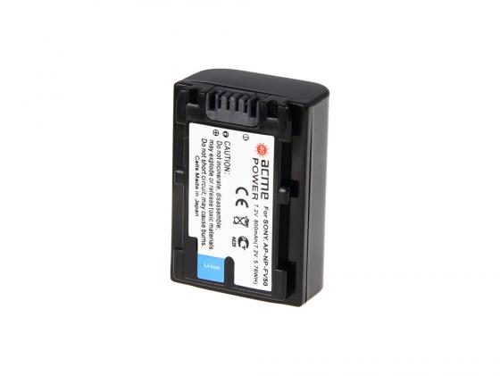 Аккумулятор AcmePower AP-NP-FV50 для видеокамеры SONY аккумулятор acmepower ap np bx1