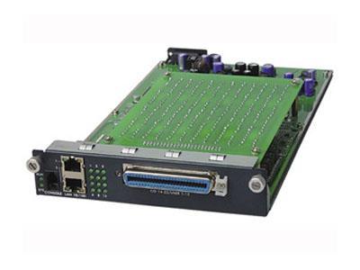 Модуль Zyxel AAM-1212-51 12-портовый ADSL2+ со встроенными сплиттерами модуль расширения zyxel m8t1e1 1 портовый модуль t1 e1 для ip атс x8004