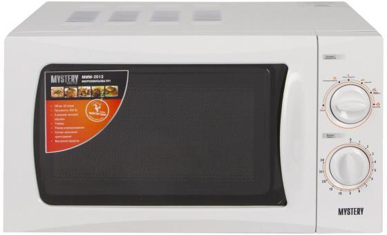 Микроволновая печь MYSTERY MMW-2013 800 Вт белый микроволновая печь mystery mmw 2031 800 вт белый