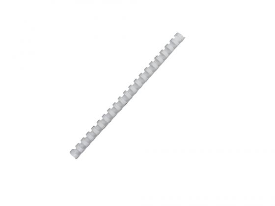Фото - Пружина пластиковая Fellowes Lamirel LA-7867002 10мм белый 100шт защита картера и кпп пластиковая chn для skoda karoq 2018