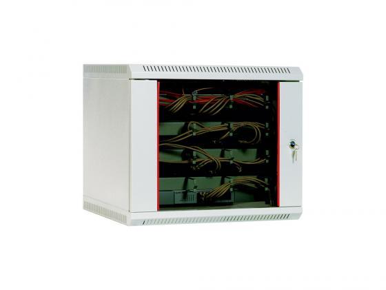 Шкаф настенный 12U ЦМО ШPH 12.480 600x480mm дверь стекло шкаф изотта 23к дверь правая ангстрем