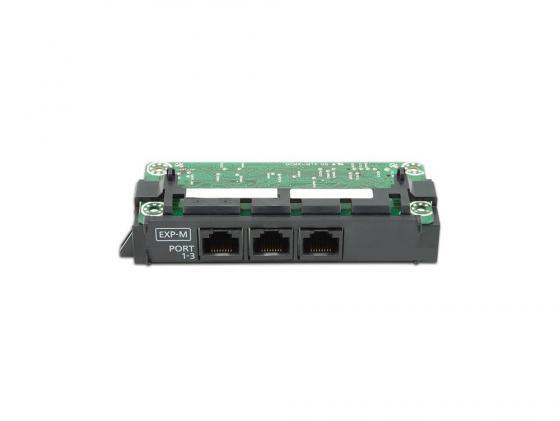 Плата расширения Panasonic KX-NS5130X ведущая плата расширения с 3-мя портами EXP-M плата расширения panasonic kx ns5171x