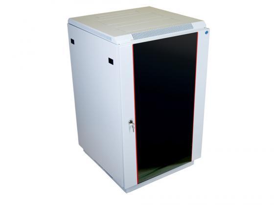 Шкаф напольный 22U ЦМО ШТК-М-22.6.6-1ААА 600x600mm дверь стекло из 2-х коробок