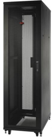 цена на Шкаф APC NetShelter SV 42U 600ммx1060мм Deep Enclosure with Sides черный AR2400FP1
