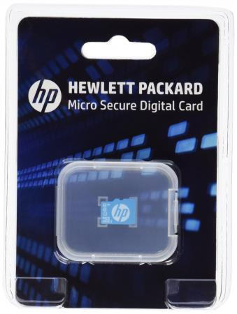 Карта памяти Micro SDHC 8Gb Class 10 HP 726116-B21 ноутбук hp probook 650 g4 15 6 1920x1080 intel core i7 8550u 512 gb 8gb intel uhd graphics 620 серебристый windows 10 professional 3zg59ea
