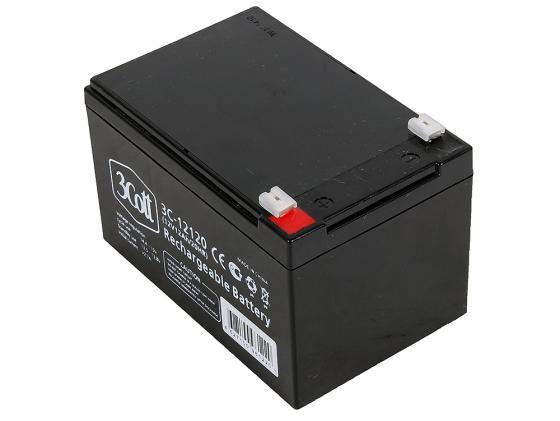 Батарея 3Cott 3C-12120 12V 12Ah батарея 3cott 12v 12ah rt12120 12v12ah 2ohr