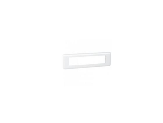 Рамка Legrand mosaic 8 постов горизонтальная белая 78818