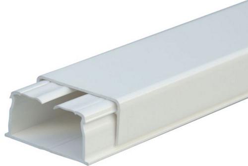 Мини плинтус Legrand DLPLUS 1 отделение плоский 2,1м 32X16мм белый 30804 плинтус legrand напольный 41х10мм 2м цвет антракцит 30092