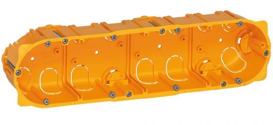 Электромонтажная коробка Legrand Batibox для перегородок 4 поста глубина 40мм 80044 электромонтажная металлическая коробка chnt 100 100 60