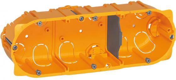 Электромонтажная коробка Legrand Batibox для перегородок3 поста глубина 40мм 80043 электромонтажная металлическая коробка chnt 100 100 60
