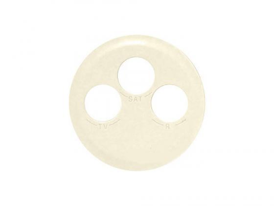 Лицевая панель Legrand Celiane для розетки TV/FM/SAT слоновая кость 66233