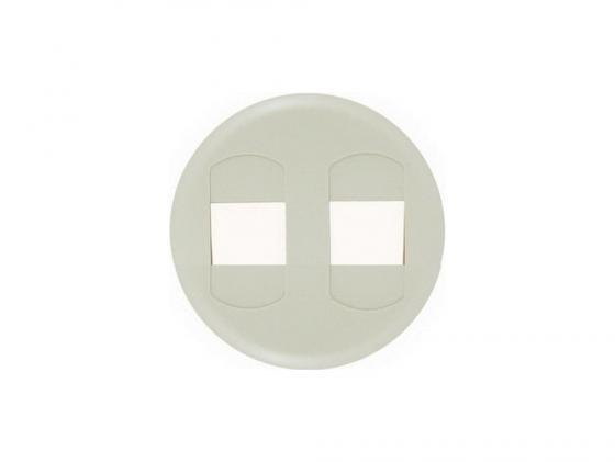 Лицевая панель Legrand Celiane для розетки для колонок двойных слоновая кость 66241 выключатель одноклавишный о у ip 44 schneiderelectricэтюдбелый