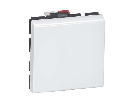 цены Выключатель Legrand Mosaic 10АХ 2 модуля 77010