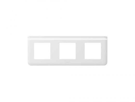 Рамка Legrand Mosaic 3х2 модуля горизонтальная 78806  розетка hdmi legrand mosaic 2 модуля белый 78768