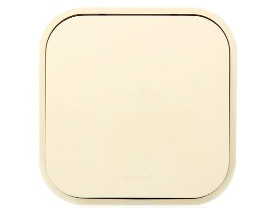 Выключатель Legrand Quteo 10А 1 клавиша слоновая кость 782234 выключатель 1 клавишный наружный белый 10а quteo