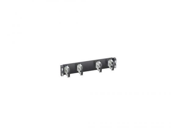 Горизонтальный кабельный органайзер Schneider Electric Actassi VDIG188142 19 2U 4 кольца шторки для патч панелей schneider electric actassi 19 c красный 24шт vdim11u244