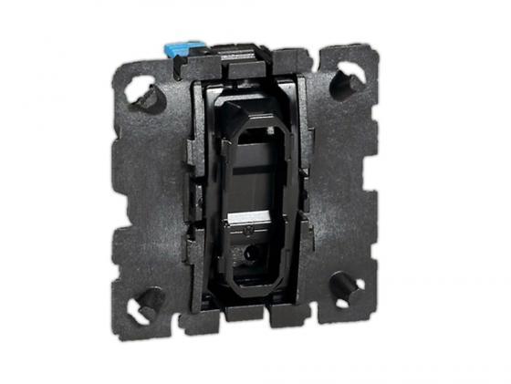 Выключатель Legrand Celiane 6А кнопочный 67032 выключатель legrand quteo 2 клавишный серый 782332