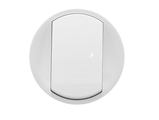 Лицевая панель Legrand Celiane для выключателя белый 68001 лицевая панель legrand celiane для заглушки белый 68143