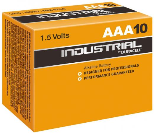 Батарейки Duracell Industrial AAA 10 шт цены онлайн