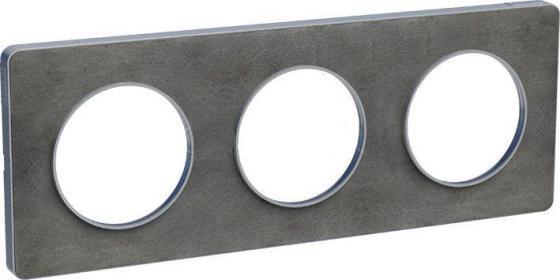Рамка 3 пост сланец ODACE S53P806V schneider se odace полированная бронза белый рамка 4 я s52p808l