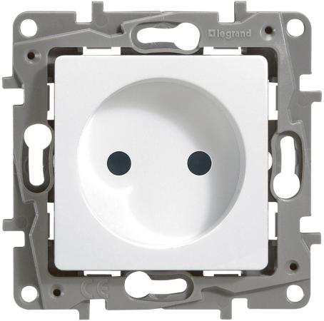 Розетка Legrand Etika 2К белый 672220 механизм выключателя legrand etika белый 2 клавишный 672202