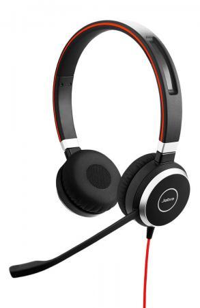 Гарнитура Jabra EVOLVE 40 MS Stereo 6399-823-109 voip оборудование jabra speak 810 ms 7810 109