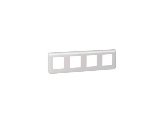 Рамка Legrand Mosaic 4х2 модуля горизонтальная 78808