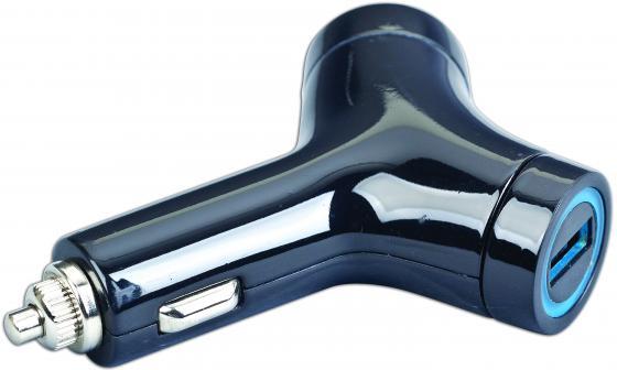 Автомобильное зарядное устройство Gembird MP3A-UC-CAR5 2А 2х USB черный цена
