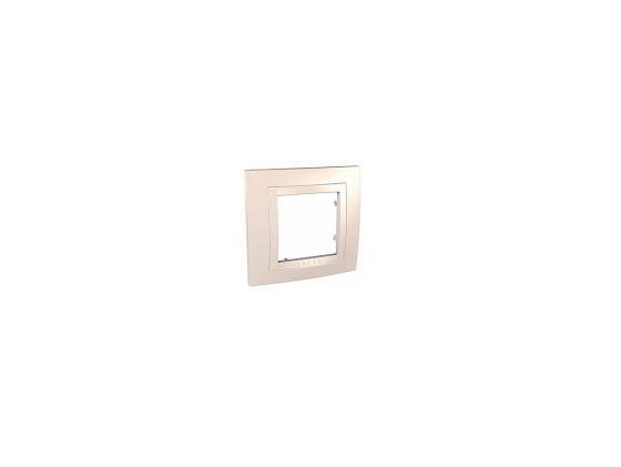 Рамка 1 пост бежевый Schneider Electric MGU2.002.25 цена