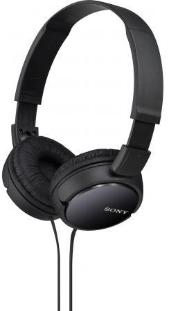 Наушники Sony MDR-ZX110APB черный беспроводные стереонаушники sony mdr zx330bt черный
