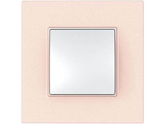 Рамка 1 пост розовый Schneider Electric Unica Quadro MGU4.702.37