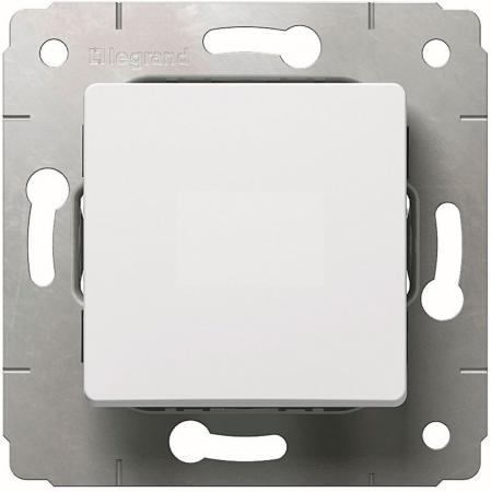Выключатель Legrand Cariva 1-клавишный белый 773656