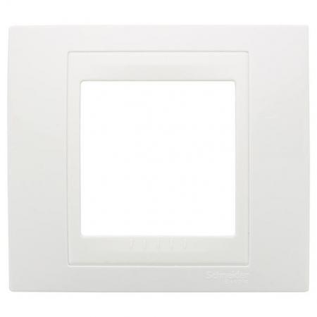 Рамка 1 пост белый Schneider Electric Unica MGU6.002.18