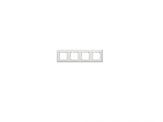 все цены на Рамка Legrand 4 поста горизонтальная слоновая белый 773654 онлайн