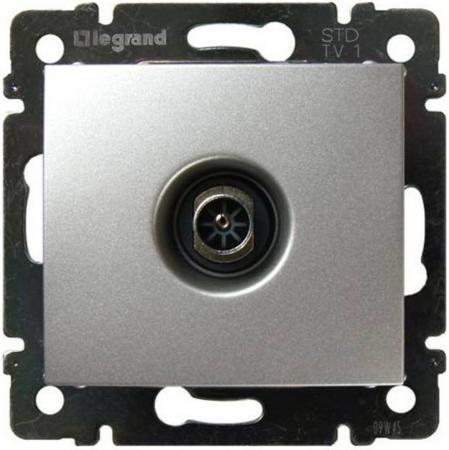 Розетка Legrand Valena ТV алюминий 770129  цена и фото