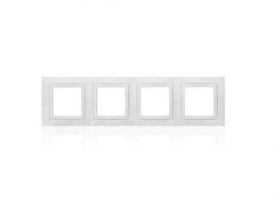 Рамка 2 пост белый с декоративным элементом Schneider Electric Unica MGU2.008.18 the book of aron