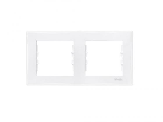 цена на Рамка 2 пост белый Schneider Electric Sedna SDN5800321