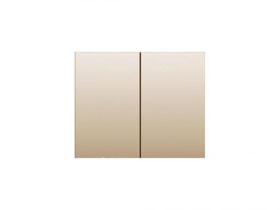 Лицевая панель Legrand Galea Life для двойного выключателя титан 771412 цены