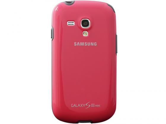 Чехол Samsung EFC-1M7BPEGSTD для Samsung Galaxy S3 mini розовый