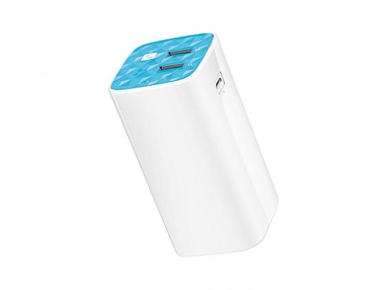 Портативное зарядное устройство TP-LINK TL-PB10400 10400мАч 2xUSB белый портативное зарядное устройство tp link tl pb15600 15600мач