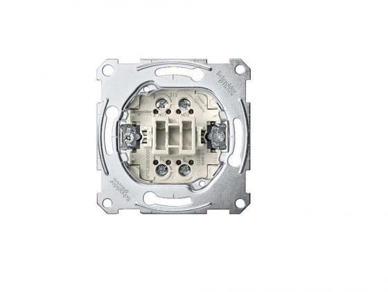 Переключатель Schneider Electric двухклавишный СХ.6+6 MTN3126-0000 переключатель schneider electric двухклавишный 16а alb45056