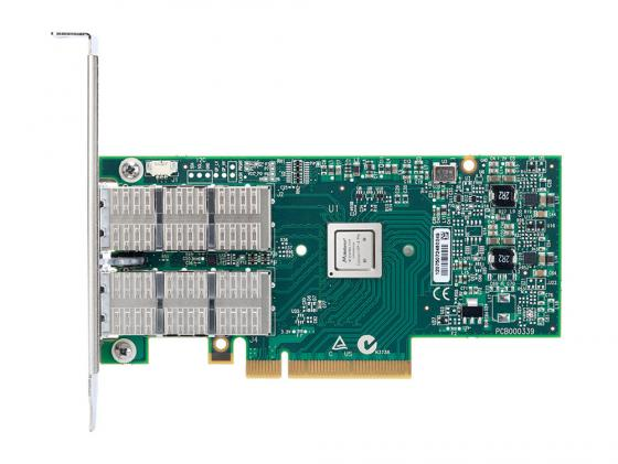 Сетевой адаптер Mellanox ConnectX-3 Pro EN network interface card 40/56GbE dual-port QSFP PCIe3.0 x8 8GT/s tall bracket RoHS R6 MCX314A-BCCT