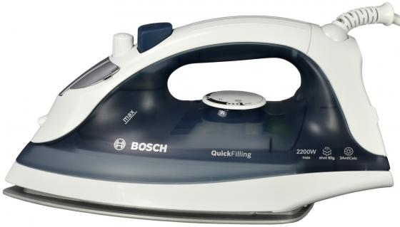 Утюг Bosch TDA 2365 2200 Вт подача пара 22 г/мин пар.удар 80 г/мин серый/белый рубанок makita kp0800x1