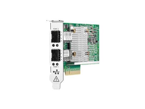 Контроллер HP 530SFP+ 2x10Gb PCIe2.0 Broadcom for DL165/580/585/980G7 & Gen8/Gen9-servers 652503-B21 server rail kit for dl360p gen8 gen9 728440 001