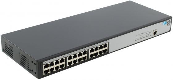 Коммутатор HP 1620-24G управляемый 24 порта 10/100/1000Mbps JG913A цена