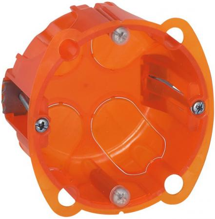 Электромонтажная коробка Legrand Batibox 1 пост глубина 40мм 80101 электромонтажная коробка legrand plexo 1 пост серый 69651