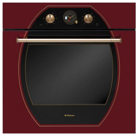 Электрический шкаф Hansa BOEC68209 вишневый духовой шкаф hansa boec68209