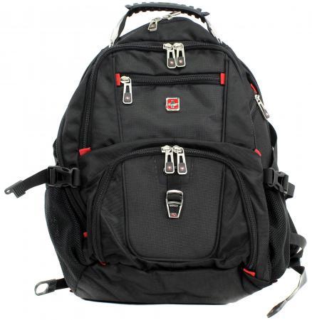 Рюкзак для ноутбука 15.6 Continent BP-301 полиэстер черный комплект белья soft line 2 х спальный наволочки 50x70 06121