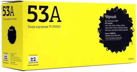Фото - Картридж T2 Q7553A для HP LJ P2014 P2015 M2727nf MFP черный 3000стр TC-H53A картридж hp q7553x для laserjet p2014 p2015 m2727 7000стр