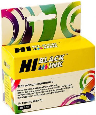 Картридж Hi-Black C9364HE №129 для HP DeskJet 5943 6943 D4163 черный v030 mssd ffc 073 0201 9364